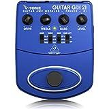 Behringer V-Tone Guitar Driver / DI GDI21 Modéliseur d'ampli pour guitare acoustique / préampli pour l'enregistrement direct / boîte d'injection
