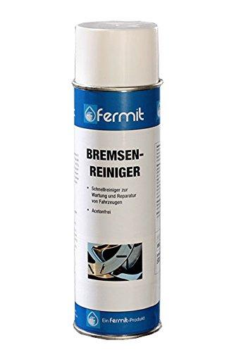 Fermit Bremsenreinigerspray 500ml Bremsenreiniger Bremsen Spray (Bremse Reinigen)