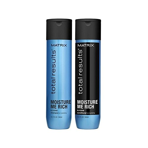 Matrix Total Results Moisture Me Rich Shampoo and Conditioner (300ml)