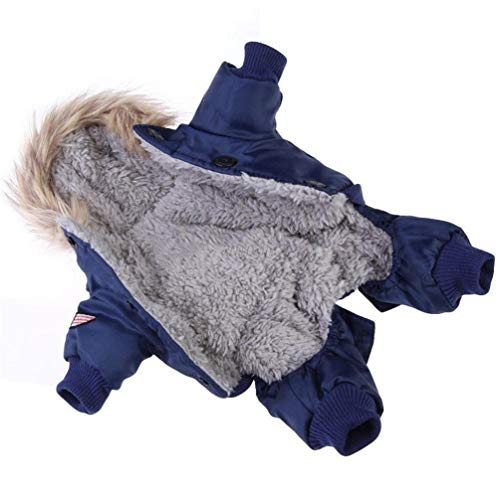 Feidaeu Warme Hundebekleidung Camouflage Winter Wasserdichte Hund Jacke Mode für Chihuahua Kleine Gro?e Hunde Mantel -