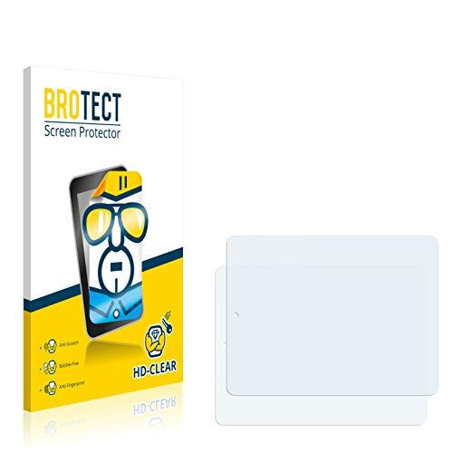 BROTECT Schutzfolie kompatibel mit Odys Study Tab [2er Pack] - klarer Bildschirmschutz