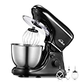 Kealive Stand Mixer 1200-Watt 8-Speed, Dough Mixer Food Mixer with 4.5L Stainless Steel