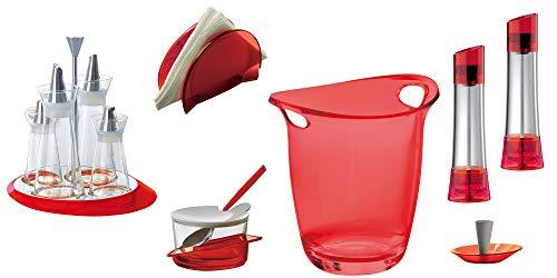 BUGATTI - Set von 7 Stück Glamour - Rot