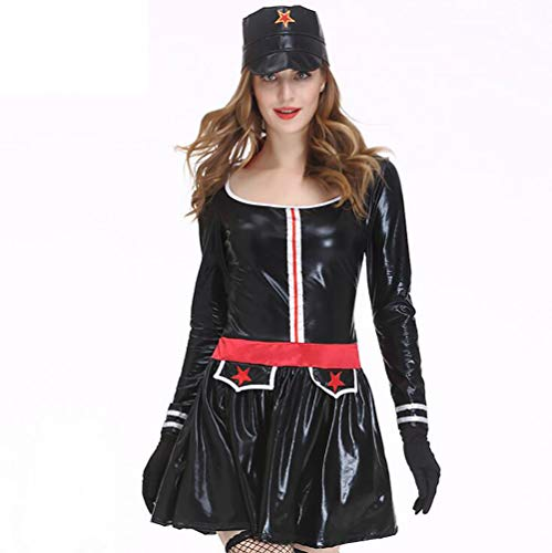 SHANGLY Erwachsene Cosplay Kostüm Kleid Halloween Für Marine-Dame -