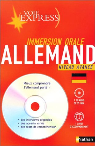 Voie express - Immersion orale : Pack Allemand