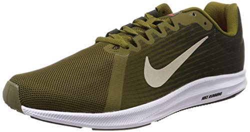 newest collection 218f4 d84ce Nike Downshifter 8 Scarpe Running Uomo, Verde (Olive Flak String-Sequoia-