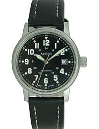Aristo Reloj de hombre reloj de pulsera Planeador Reloj AUTOMATIC piel 3h11