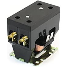 Sourcingmap  - Ac220v enrolle un polo de aire acondicionado 1 na del contactor del compresor cjx9b-25