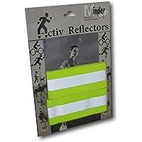 EPOSGEAR Minder Activ Reflector High Visibility Reflective Adjustable Hook and Loop Armbands