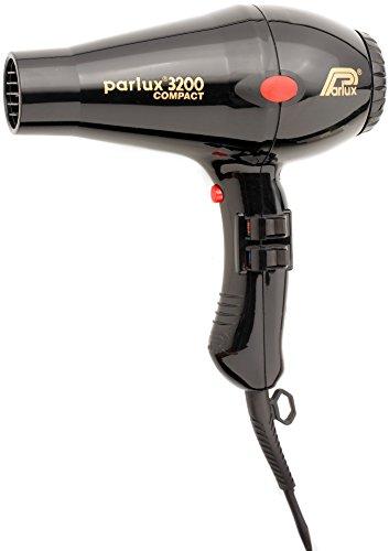 Parlux 3200 Compact - Secador de pelo, color negro