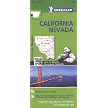 Michelin USA California, Nevada Map 174