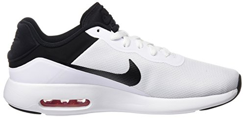 Nike 844874, Scarpe da Ginnastica Basse Uomo Multicolore (Blanco / Negro)
