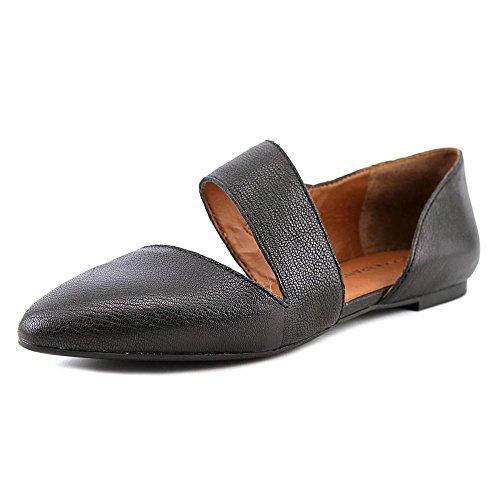 Lucky Brand Madysonn Femmes Cuir Chaussure Plate Black