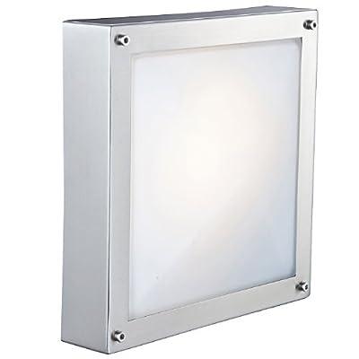 Außenleuchte Außenbeleuchtung Wandleuchte Wandlampe Edelstahl Globo 32210 von Globo auf Lampenhans.de