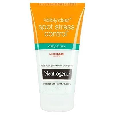 Neutrogena Visibly Clear Spot Stress Control Daily Scrub, 150ml from Johnson and Johnson