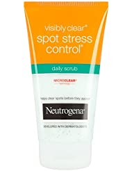 Neutrogena Visibly Clear Spot Stress Control Daily Scrub, 150ml