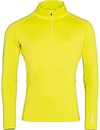 Rossignol Classique 1/2 Zip Camiseta Térmica, Hombre, Chartreuse, ...