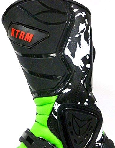 NEU RACING KIDS STIEFEL XTRM ADVENTURE MOTOCROSS KINDER MX TRACK STIEFEL GRüN (34) - 5