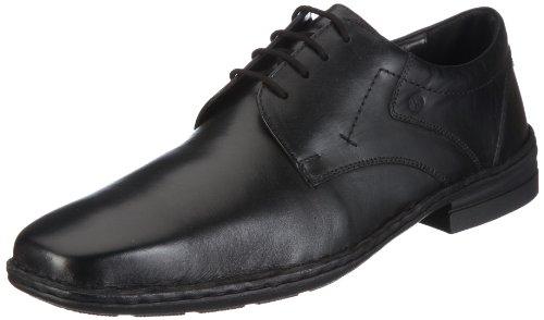 Josef Seibel Schuhfabrik GmbH Drake 42394 49 600, Herren Klassischer Schnürer, Schwarz (schwarz 600), EU 42