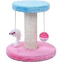 Npotwdt Cat Bell Cat Plataforma de Salto Sling Mouse Doble Capa sisal Gato Escalada