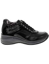 Cesare Paciotti 4Us Sneakers Donna 4USED420 Pelle Nero f2a86d93f1e