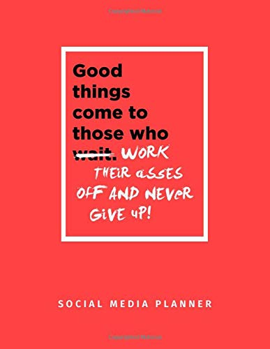 Social Media Planner For Aspiring Influencers: Track Your Content Marketing Strategy, Post Creation & Scheduling | Thoughtfully Designed Efficient ... Income & Expenses | Inspirational Quote