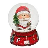 Belle petite boule à neige avec Père Noël, dimensions...