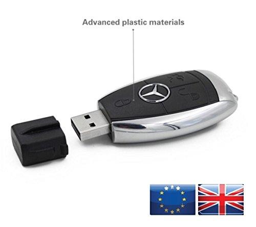 Preisvergleich Produktbild 8 GB Mercedes USB Stick Autoschlüssel