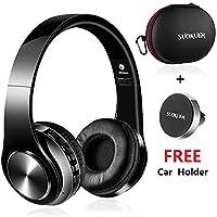 SHOWCOOL - Auriculares inalámbricos Bluetooth con cancelación de Ruido con micrófono Integrado para iPhone, Samsung