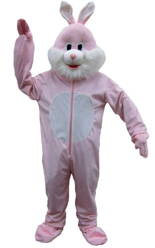 Dress Up America Costume mignonne de mascotte de lapin