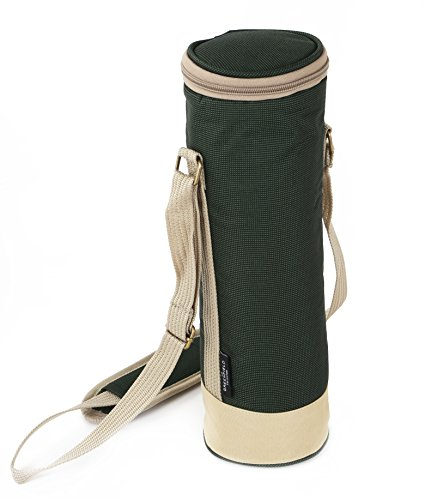 greenfield-collection-solo-wine-cooler-bag-forest-green