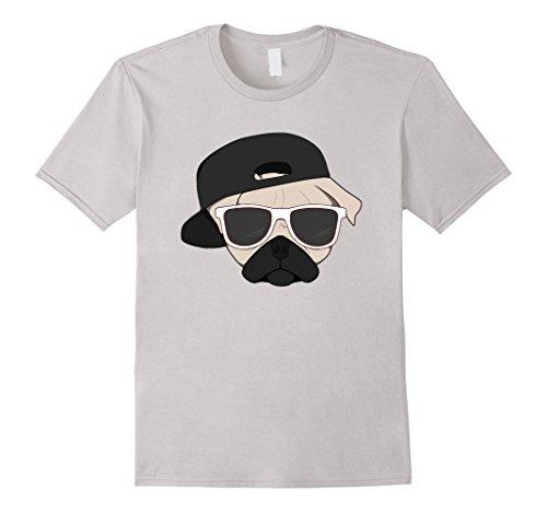 Used, Men's Pug Shirt | Thug Pug T Shirt   Pug Life Shirt for sale  Delivered anywhere in UK