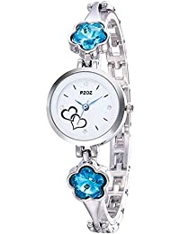 PZOZ Analogue White Dial Watch for Women