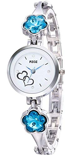 PZOZ Analogue White Dial Watch for Women