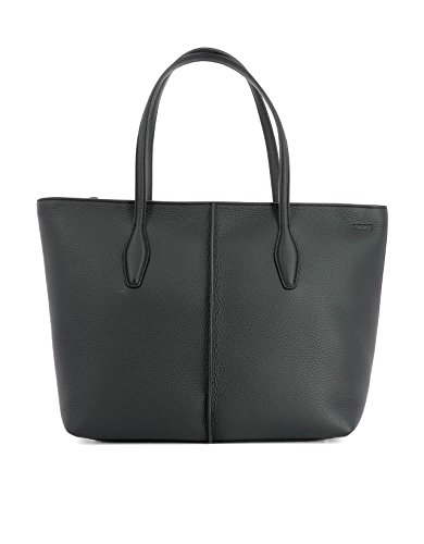 tods-womens-xbwamfaa300riab999-black-leather-tote