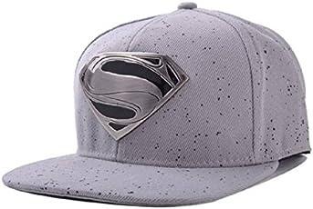 FAS Unisex Cotton Superman Snapback and Hip hop Cap(Multicoloured,cap_b2b_X)