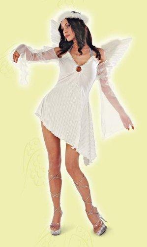 Rio Disfraz de ángel para mujer, talla 48-50 cm (151222/4850)
