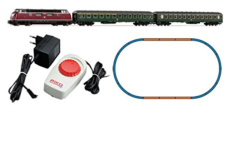 H0 PI START-SET EILZUG BR220+2 WAGEN DB