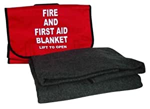 North by Honeywell 5560396 Cordura Bag for Fire Blanket, 15 3/4-Inch x 15 1/2-Inch by North