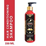 Aegte Natural Hair Conditioning Shampoo Enriched with Red Onion, Fenugreek Seeds, Kalonji