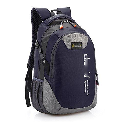 Freizeit-Mode-Reise-Rucksack-Schule-Beutel-Kursteilnehmer-Schulter-Beutel-Tagesbeutel,Lavender DarkBlue