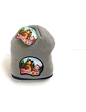 Masha & Orso Cappellino grigio Taglia unica SFIZIOSA