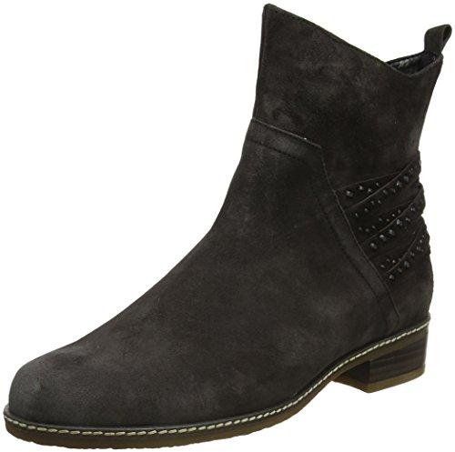 Gabor Shoes Damen Comfort Sport Stiefel, Grau (39 Dark-Grey (Micro)), 37.5 EU