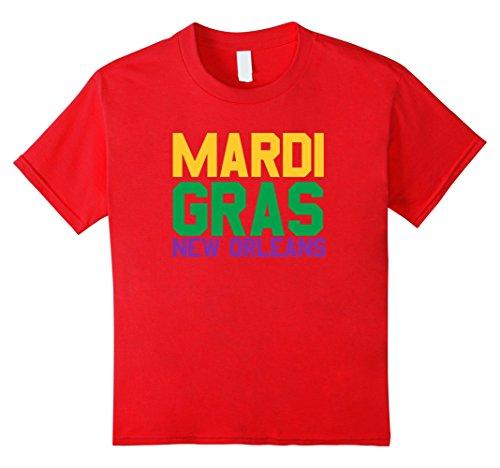 Ideen Shirt Mardi Gras (Mardi Gras New Orleans - Gift Idea T-Shirt Kinder, Größe 152)