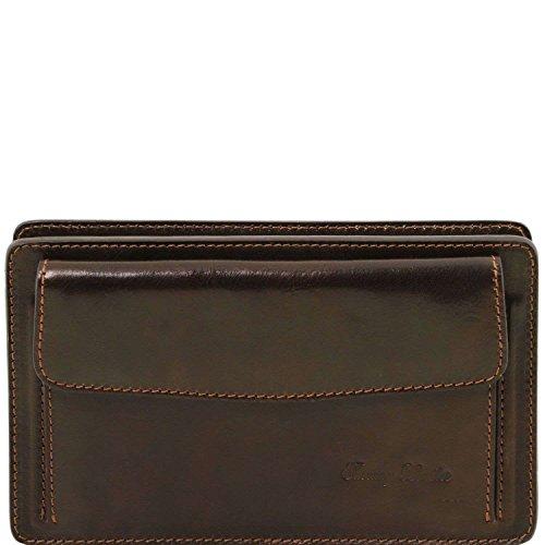Tuscany Leather TL141445, Borsa a spalla uomo Marrone marrone compact