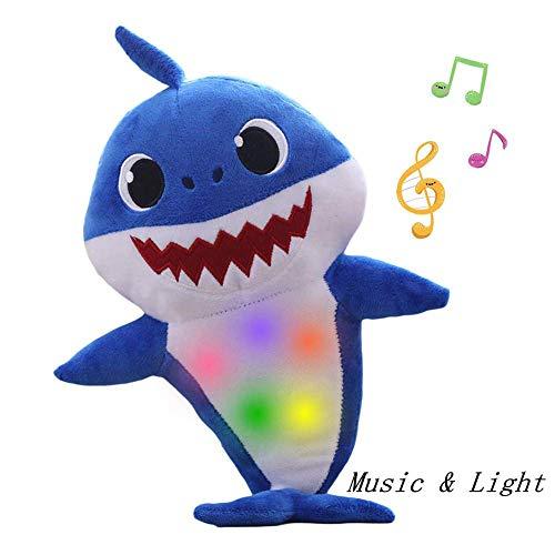 er Gesang Plüsch, Enjoyfeel Soft Music Sound Baby Doll Gefüllte Plüsch Spielzeug Gesang Englisches Lied für Junge Mädchen (Blue) ()