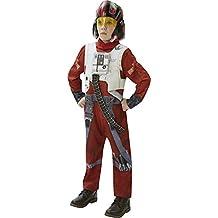 Star Wars - Disfraz de Xwing Fighter, Episode 7, Deluxe, para niños (Rubie's 620266-XL)
