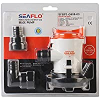 Seaflo fontanería 600GPH 12V barco bomba de achique sumergibles bomba de agua para Marine RV estanque agua sistema