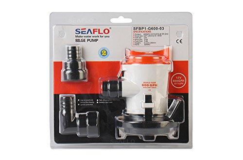 Seaflo 600GPH 12V Automobile Bilge Pumpe Tauchpumpe für Marine Wohnmobil-Teich Wasser System - ölwanne Tauchpumpen, Pumpe, Klein