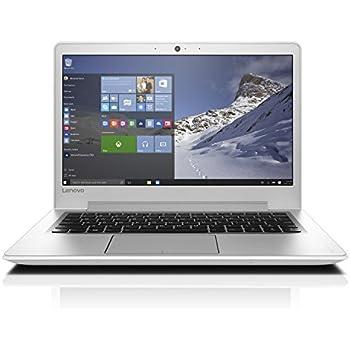 Lenovo ideapad 510S 33,78cm (13,3 Zoll Full HD Anti-Glare) Slim Multimedia Laptop (Intel Core i5-7200U, 3,1GHz, 8GB RAM, 256GB SSD, Intel HD Grafik 620, Windows 10 Home) weiß